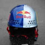 Kask Red Bull2 2 airbrushing Daniel Baum