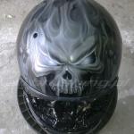 Kask Skull 1 airbrushing Daniel Baum
