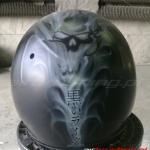 Kask Skull 2 airbrushing Daniel Baum